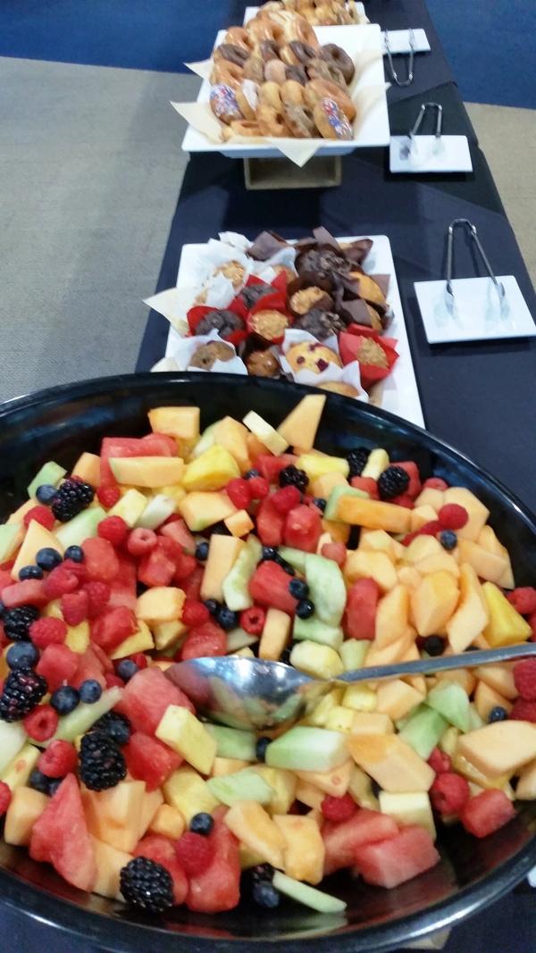 Berry-licious breakfast