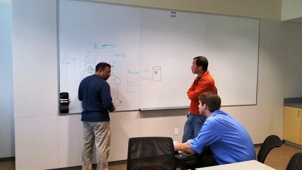 Oracle Ace John Kanagaraj conducts a private training session for Stephen